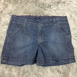 Nautica denim shorts  size 16